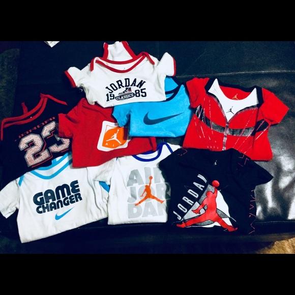 e809a1a905b91a 8 Nike and Air Jordan onesies. M 5b03822ecaab4425373f8acb